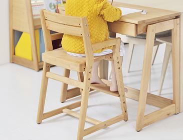 高さ調整可能な学習椅子