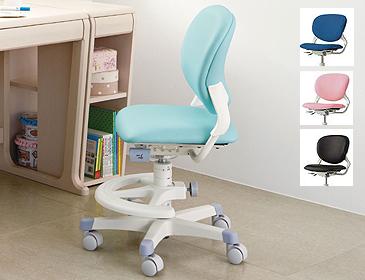 回転式の学習椅子